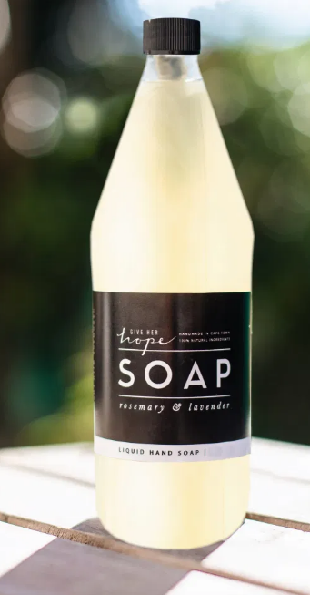 Rosemary & Lavender Liquid Hand Soap Refill  750ml