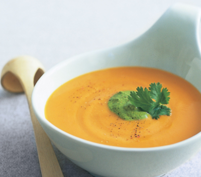 Thai Style Sweet Potato Soup (Vegan)