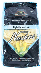 Mexicorn Nachos – Lightly Salted- 250g