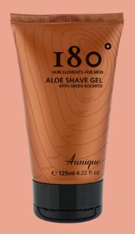 180° Aloe Shave Gel 125ml