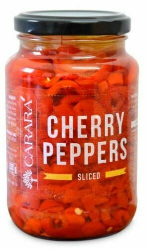 Red Cherry Peppers - Sliced 375ml