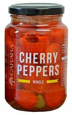 Red Cherry Peppers - Whole 375ml