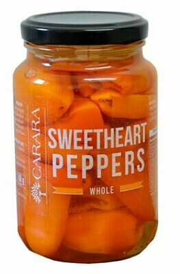 Sweetheart Peppers - Whole 375ml