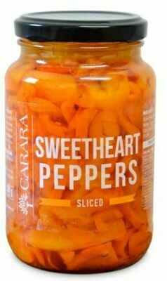 Sweetheart Peppers - Sliced