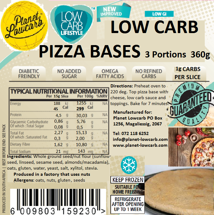 Pizza Bases (3 pack)