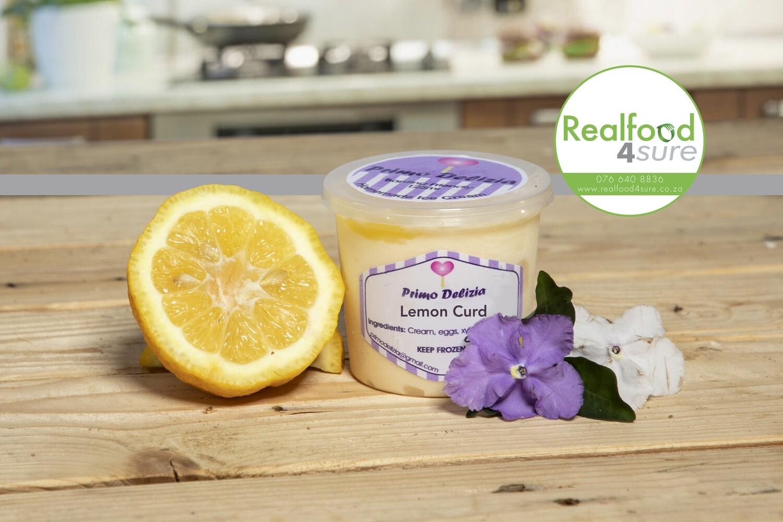 Banting Icecream (Lemon Curd)