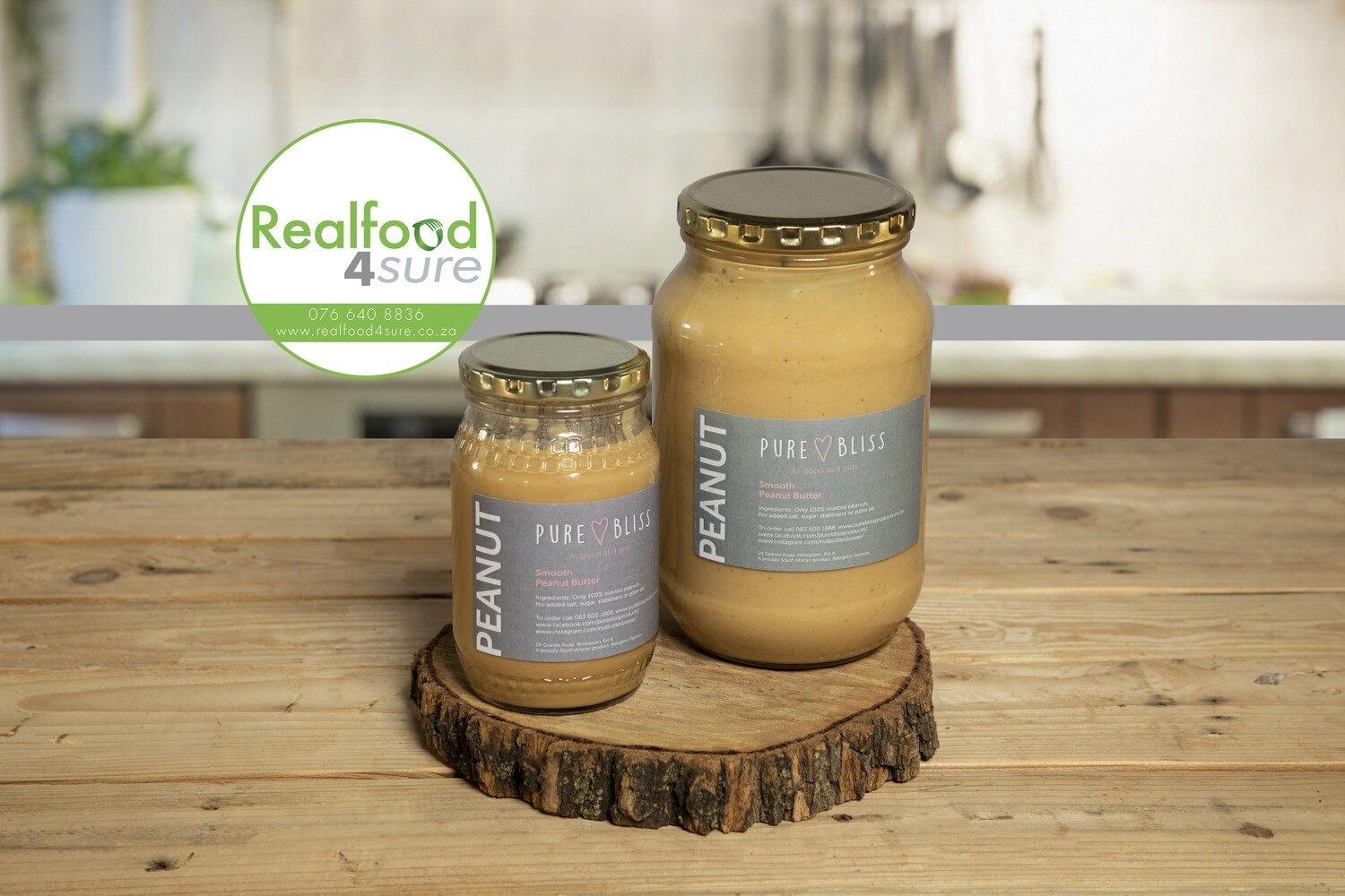 Peanut Butter (nothing but Peanuts!) Crunchy Plain 350g