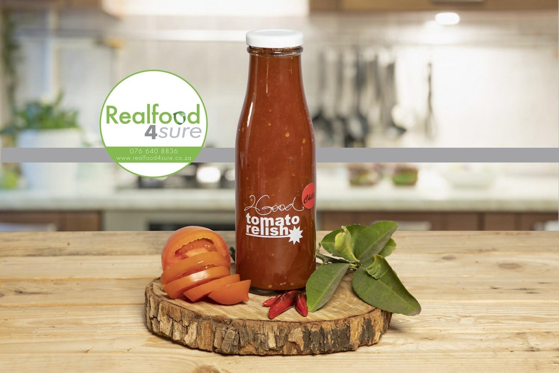 Tomato Relish Chilli (2 Good) 375ml