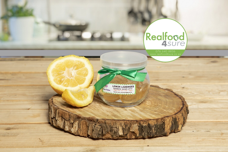 Lemon Lozenges (12 in a jar)