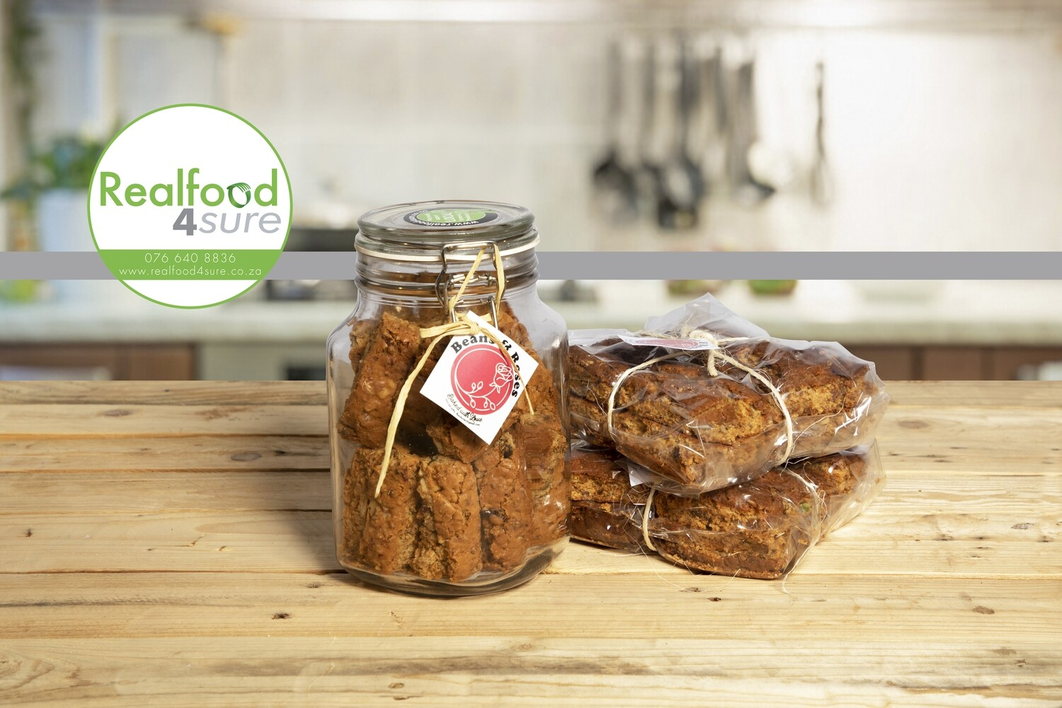 Wholegrain Fruit & Nut Rusks (Beans & Roses)