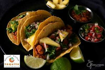 Mexican Taco Meal Experience (serves 2) Currently for Friday delivery only