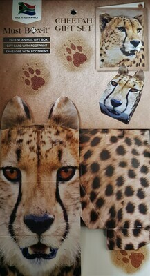 Cheetah Gift Card Set