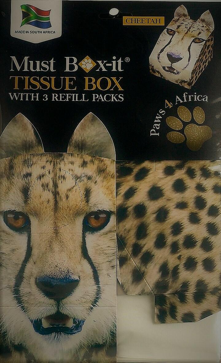 Cheetah Tissue Box Set