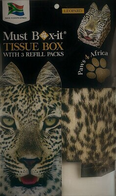 Leopard Tissue Box Set