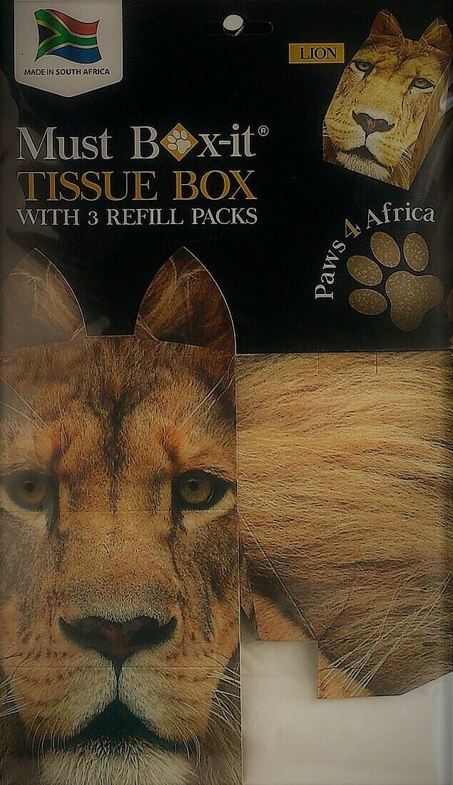 Lion Tissue Box Set