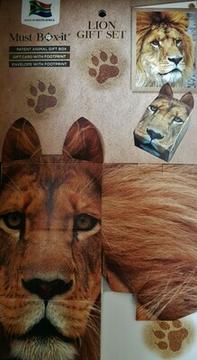 Lion Gift Card Set