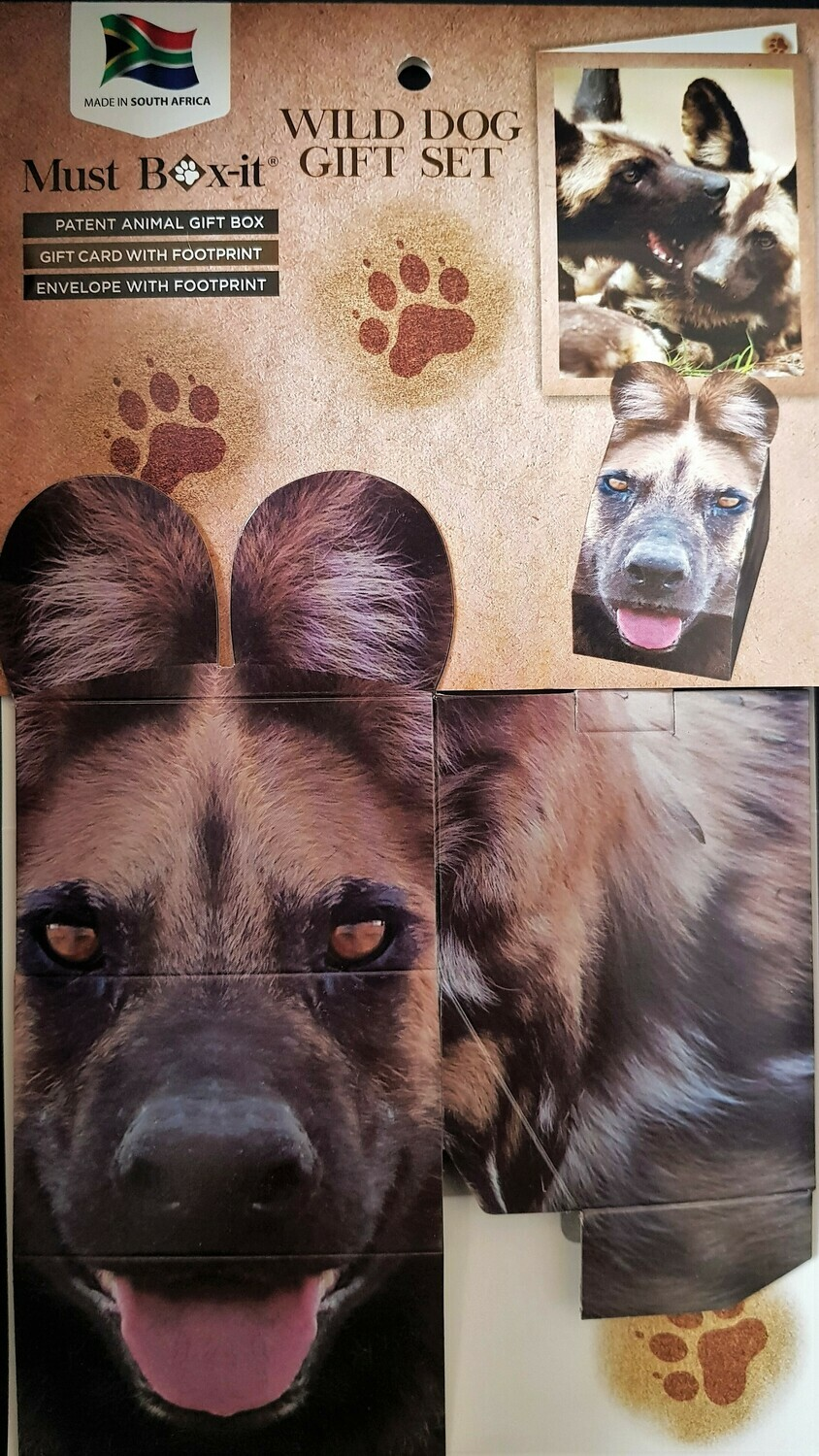 Wild Dog Gift Card Set