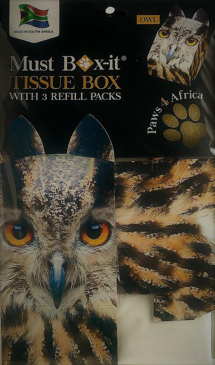 Owl Tissue Box Set