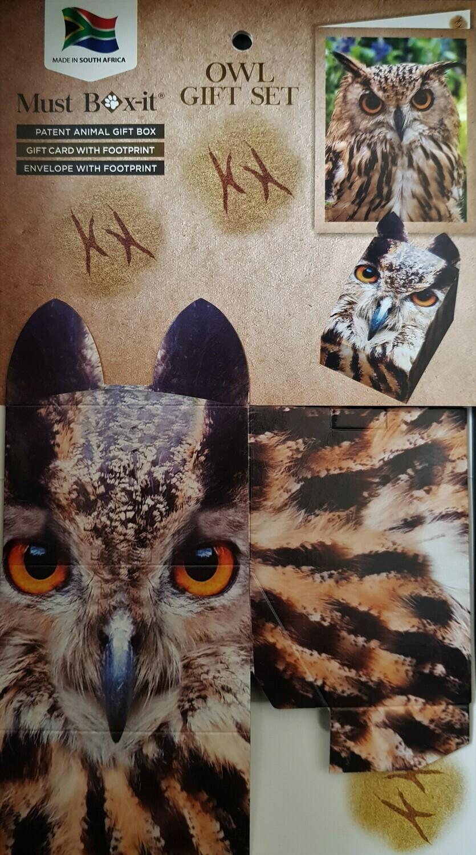 Owl Gift Card Set