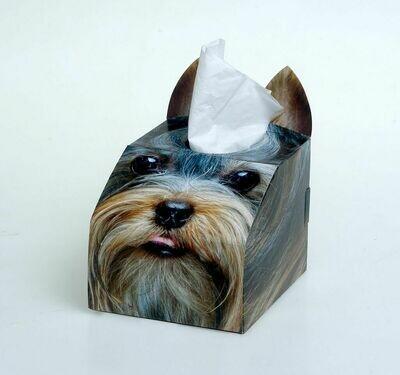 Yorkie Tissue Box Set