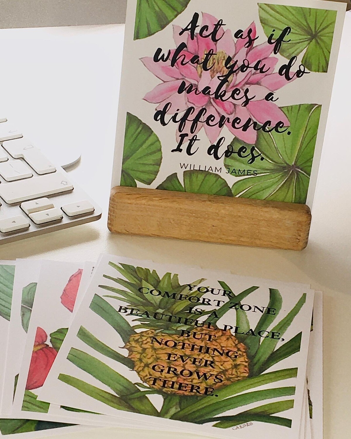 Tropical Vibes Encouragement Quotes