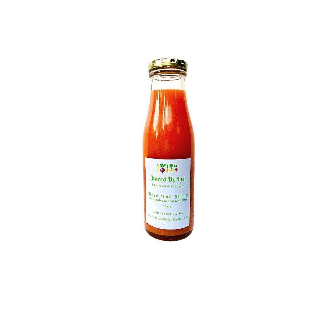 Rise and Shine (orange, pineapple and carrot) 375ml