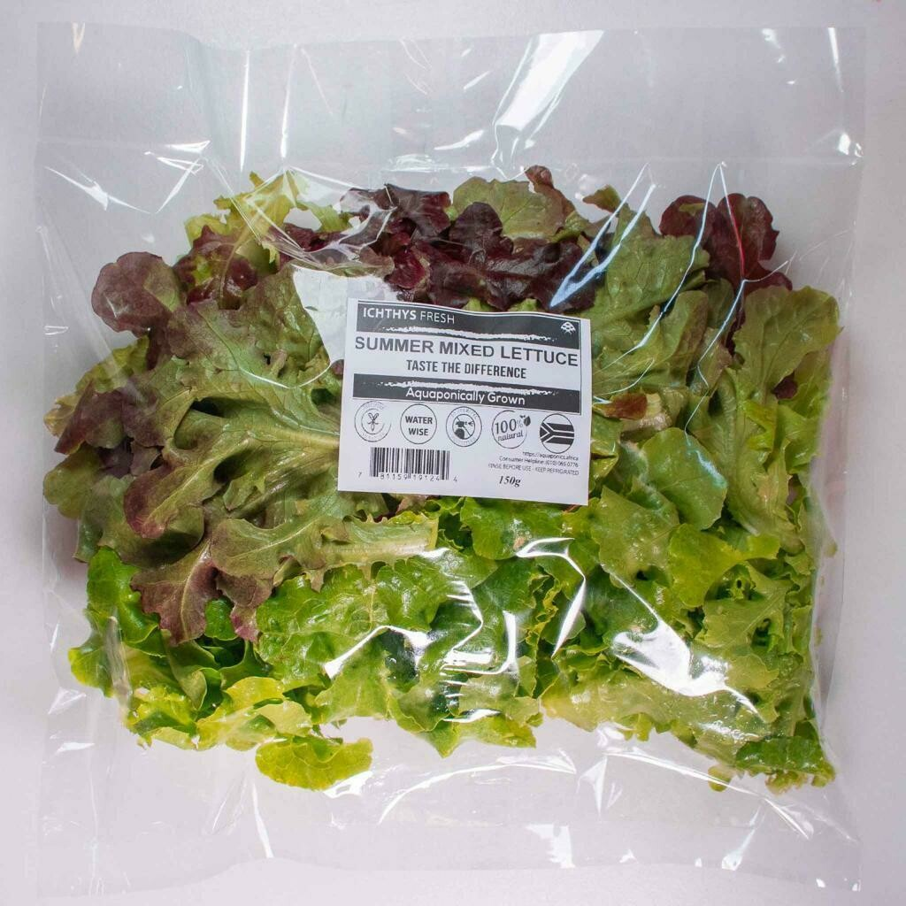 Mixed Lettuce Pack (Aquaponic) 150g