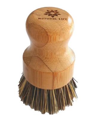 Bamboo Pot Scrubbing Brush