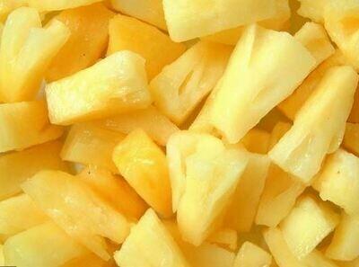 Frozen Pineapple Pieces 1kg