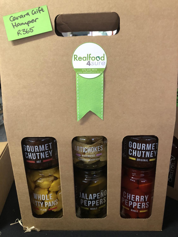 CARARA 6 Jar Gift Set