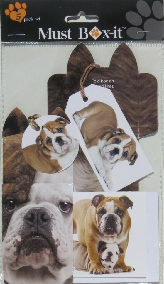 English Bulldog Gift Pack