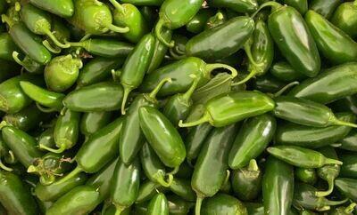 Jalapeno Chillies (Aquaponic Organic) 250g