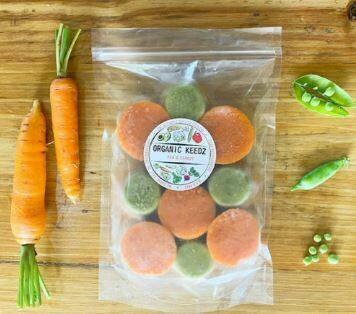 Organic Keedz Pea and Carrot