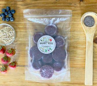 Organic Keedz Berry Chia Pudding