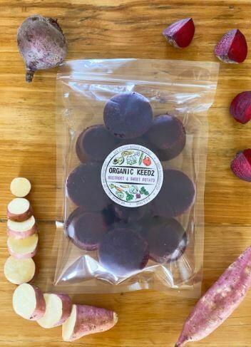 Organic Keedz Beetroot & Sweet Potato