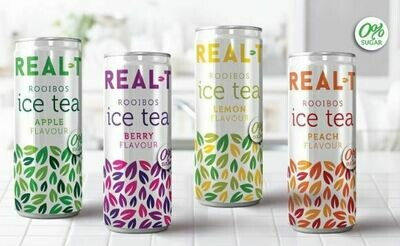 Real T Trial Pack (4) One of each flavour