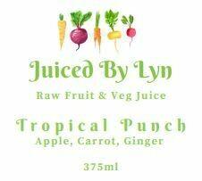Tropical Punch (green apple, carrot & ginger) 375ml
