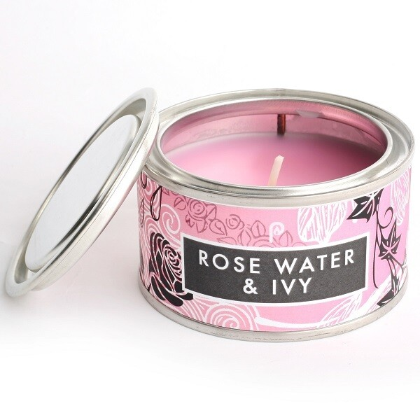 1 Wick Small Elements Tin Candle