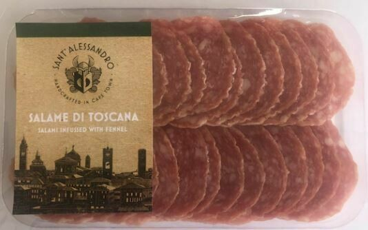 Salami di Toscana – infused with fennel (70g Sliced)