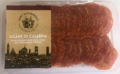 Salami di Calabria - blended with zesty spices and crushed red peppers (70g sliced)