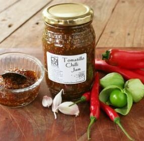 Tomatillo Chilli Jam 250ml