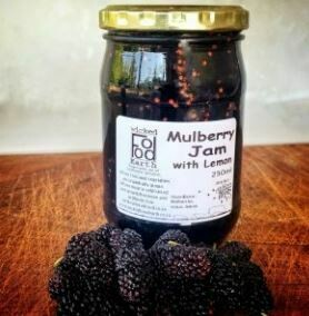 Mulberry Jam with Lemon 250ml