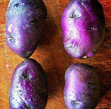 Peruvian blue potatoes 2kg