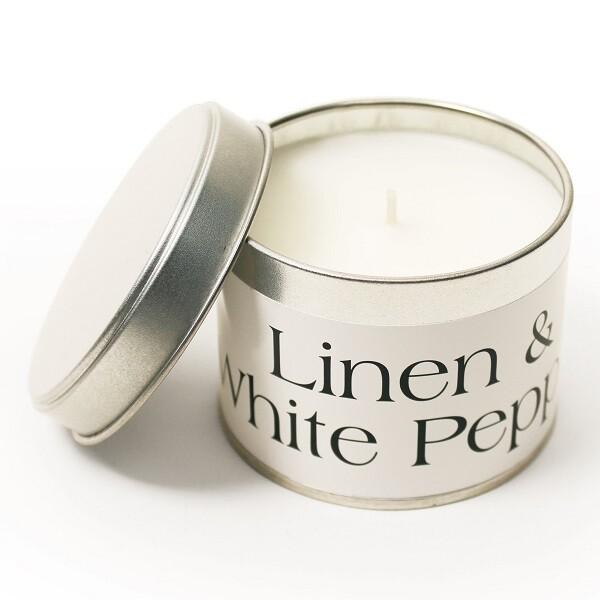 1 Wick Medium Tin Candle