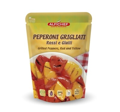 PEPPERS GRILLED RED AND YELLOW 300g