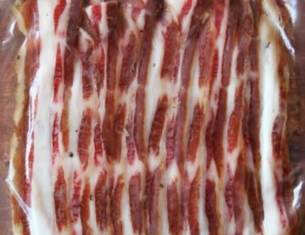 Cold Smoked Belly Bacon 200g