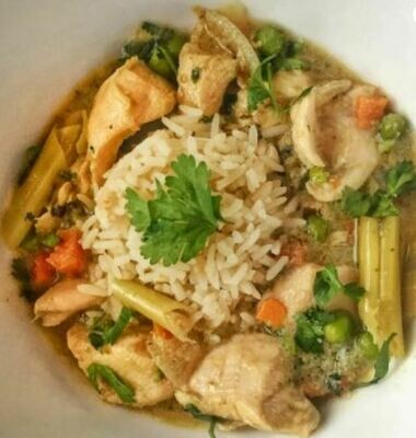 Chicken Thai Green Curry 350g