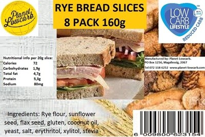 Rye Bread slices (8 Slices)