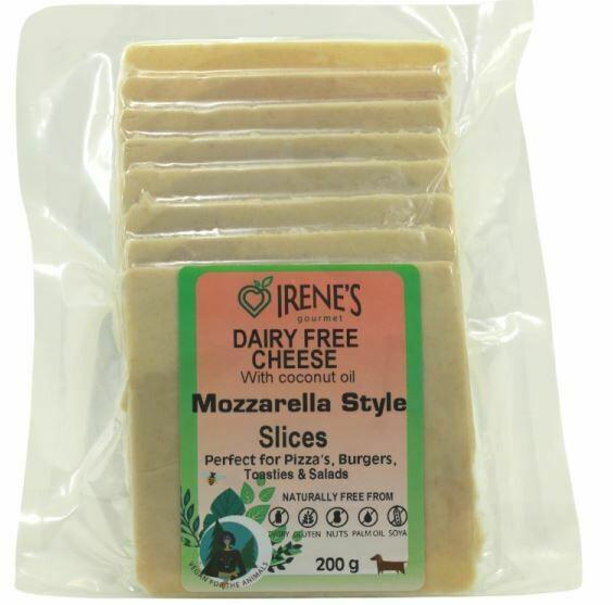 Mozzarella style Cheese sliced- 200g