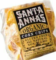 Santa Anna's Organic Corn Chips 80g
